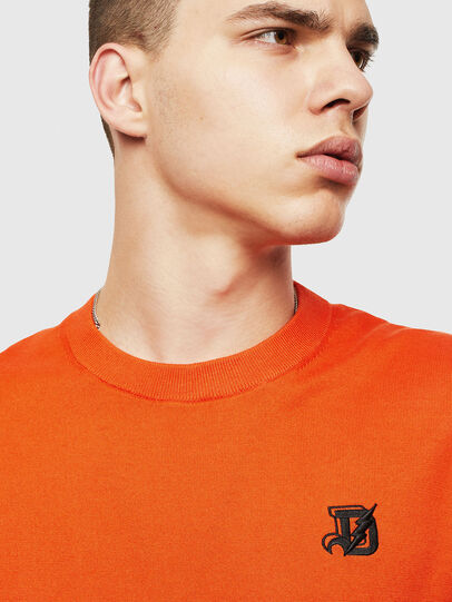 Diesel - K-FREEX, Orange - Knitwear - Image 3