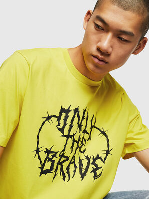 T-JUST-B23, Yellow - T-Shirts