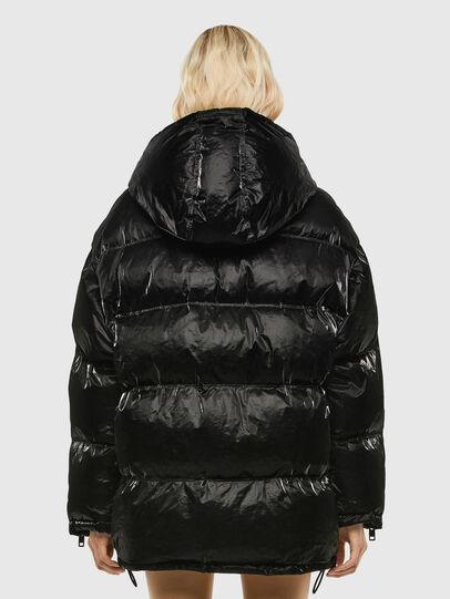 Diesel - W-DERK, Black - Winter Jackets - Image 2