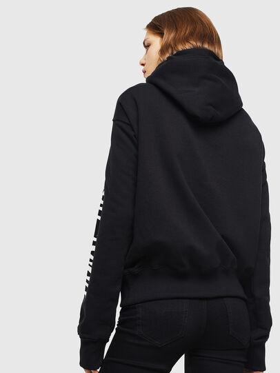 Diesel - F-ALBYHOOK-C, Black - Sweaters - Image 2
