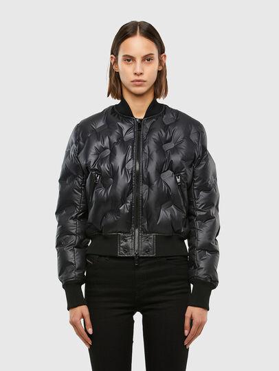 Diesel - W-AVALES, Black - Winter Jackets - Image 1