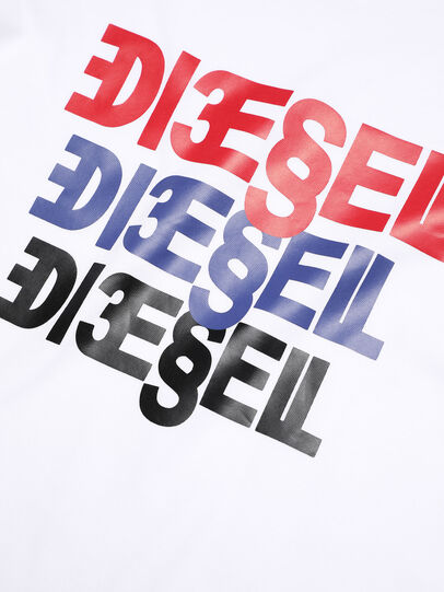 Diesel - TSURY, White - T-shirts and Tops - Image 3