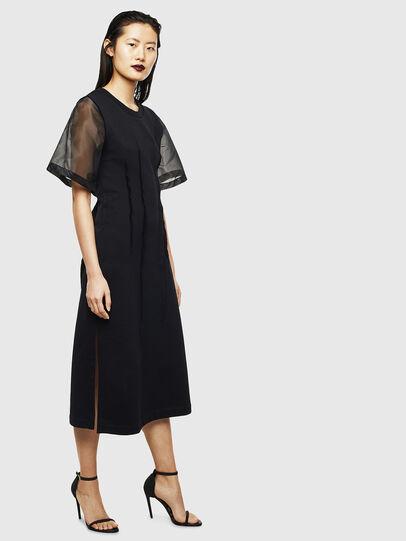 Diesel - D-GOLD, Black - Dresses - Image 4
