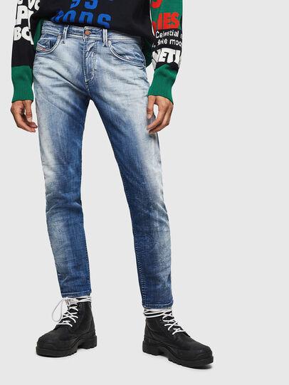Diesel - Thommer JoggJeans 0870N, Medium blue - Jeans - Image 1