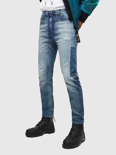 Diesel - D-Vider JoggJeans 069JZ, Light Blue - Jeans - Image 1