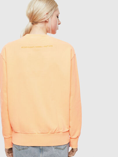 Diesel - S-BIAY-FLUO, Orange - Sweaters - Image 4