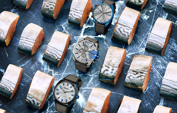Shop Diesel Watches   Bue Tech Collection